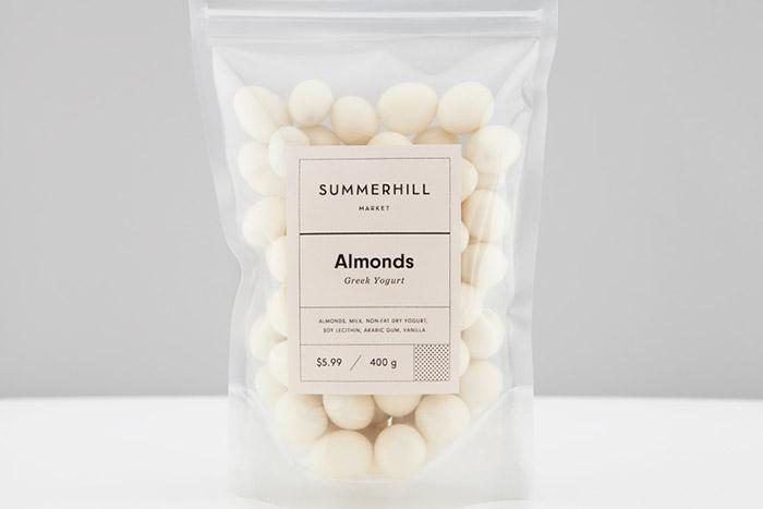 Summerhill Market品牌和包装设计