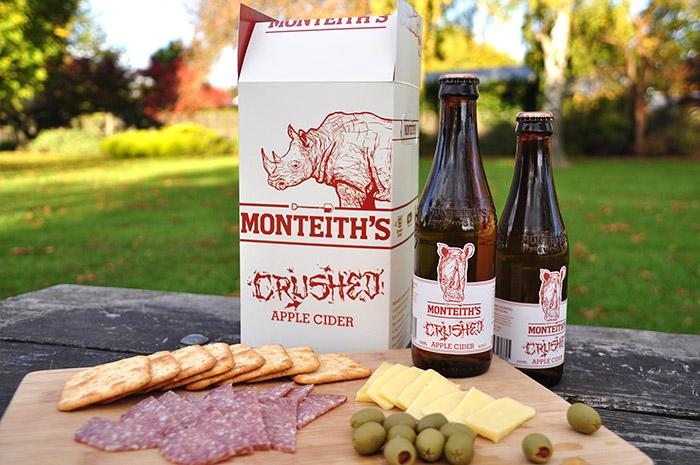 Monteiths Cider FMCG Packaging5