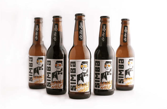 Simba craft beers daily package design inspirationdaily for Craft beer market share 2017