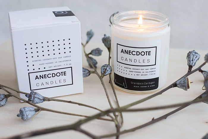 Anecdote Candles5