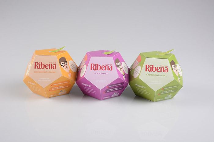 Ribena Packaging Revamp Project