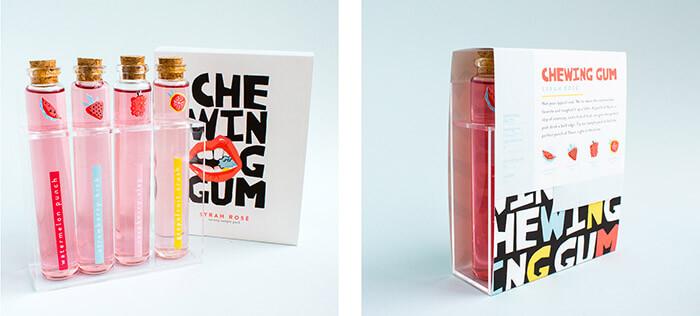 chewing gum rosé5