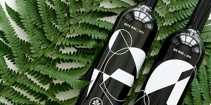 Buketo wine bottle designs by Lazy snail Design