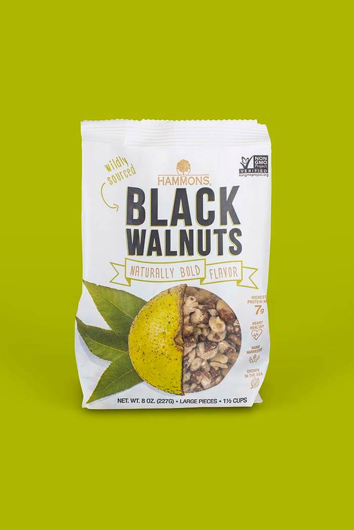 Black Walnut Package Design