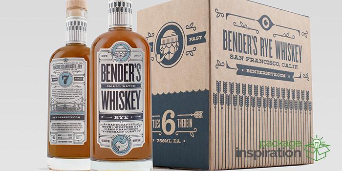 Benders Rye Packaging design inspiration
